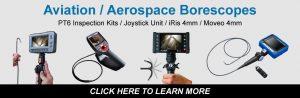 Aviation Aerospace borescope camera