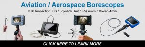 Aviation Aerospace borescope camera