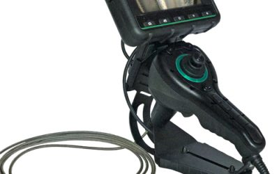 The USA600J-4-1500 Joystick All Way Articulating Portable Recording Videoscope Offers a Compact Solution